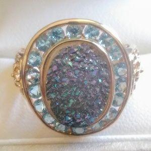 Jewelry - 14K Blue Topaz Ring